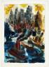 George Grosz / New York Harbor / 1934