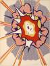 Roy Lichtenstein / Explosion from the Portfolio 9 / 1967