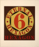 Robert Indiana / Eternal Hexagon from the Portfolio Ten Works X Ten Painters / 1964