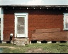 William Christenberry / Side of House--near Marion, Alabama / 1978/printed 1981