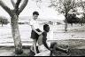 David Goldblatt / Farmer's Son with his Nursemaid. Marico Bushveld, December 1964 / 1964