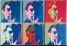 Andy Warhol / A Set of Six Self-Portraits / 1967
