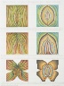 Judy Chicago (nee Gerowitz) / Rejection Quintet, a set of five drawings / 1974