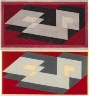 Josef Albers / Study for Tenayuca: Two Sided Painting / 1941