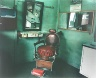 Leo Rubinfien / A Barber's Chair, North Sumatra, from the portfolio Map of the East / 1979-1987