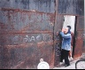 Leo Rubinfien / Chalk Drawings on a Steel Wall, Shanghai, from the portfolio Map of the East / 1979-1987