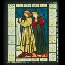 Morris, Marshall, Faulkner & Co. / STAINED GLASS PANEL: Sculpture / about 1863