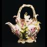Coalport Porcelain Factory / Teapot / about 1830