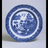 Spode / PLATE with Willow pattern / 1800-1820