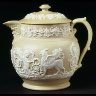 William Ridgway, Son & Co. / Covered Jug / 1830 - 1850