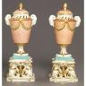 Derby Porcelain Factory / Candle vase / 1770 - 1775