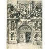 Wendel Dietterlin / ETCHING of a Doorway / Wendel Dietterlin, 'Architectura von austheilung symetrica und proportion der funff seulen', 1598