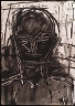 Lester Johnson / Head of a Man / 1961
