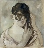 Pedro Pruna / A Woman Arranging Her Hair / 1928