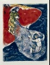 Marc Chagall / Four Tales from the Arabian Nights:  No. 8 - Abdullah the Fisherman and Abdullah the Merman, No. 1 / 1948