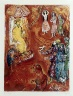 Marc Chagall / Four Tales from the Arabian Nights:  No. 10 - The Tale of the Ebony Horse, No. 1 / 1948