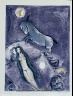 Marc Chagall / Four Tales from the Arabian Nights:  No. 11 - The Tale of the Ebony Horse, No. 2 / 1948