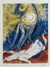 Marc Chagall / Four Tales from the Arabian Nights:  No. 13 - Scheherazade's Night / 1948