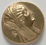 Egypt, Ptolemaic Dynasty, reign of Ptolemy V Epiphanes or Ptolemy VI Philometor / Octodrachm of Arsinoe II (obverse) / 205-145 BC
