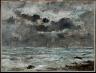 Eugène Boudin / The Coast at Trouville / c. 1865-1900