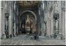 Martino del Don / Interior of San Giovanni in Laterano, Rome / c. 1896