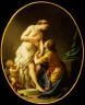 Louis Jean Francois Lagrenee / Pygmalion and Galatea / 1781