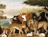 Edward Hicks / The Peaceable Kingdom / c. 1846-1847