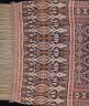 Indonesia, Lesser Sunda Islands, Sumba Island, East Sumba, Kanatang village / Man's shoulder cloth or hip cloth (hinggi) / late 19th-early 20th century