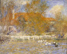 Pierre-Auguste Renoir / The Duck Pond / 1873