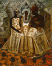 John Thomas Biggers / Starry Crown / 1987