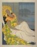 """Paul Jacoulet / Après la danse """"Celebes"""" / 1940"""