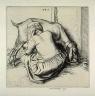 Robert Sargent Austin / Woman milking a Goat / 1925