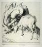 Robert Sargent Austin / Woman tethering a Goat / 1928