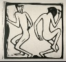 Christian Rohlfs / Zwei Tanzende (Two Dancers) / circa 1913