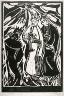 Christian Rohlfs / Die Heilige drei Könige (Three  Holy Kingsi) / circa 1910