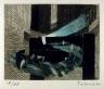 Fernando de Szyszlo / Untitled, accompanying  the fourth poem in the book Artificio para sobrevivir - Device for Survival  by Emilio Adolfo Westphalen (San Diego: Brighton Press, 1992) / 1992