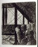 Marcel Gromaire / Untitled, opposite p. 17 in the book Vers un monde volage by Henri Hertz (Paris:  Marcel Seheur, 1926) / 1926