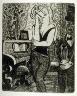Marcel Gromaire / Untitled, opposite p. 63 in the book Vers un monde volage by Henri Hertz (Paris:  Marcel Seheur, 1926) / 1926
