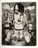 Marcel Gromaire / Untitled, opposite p. 97 in the book Vers un monde volage by Henri Hertz (Paris:  Marcel Seheur, 1926) / 1926