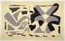 Georges Braque / Fenetres: Oiseaux Gris / 1962