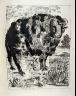 Pablo Picasso / Le bélier (The ram), pl. 5, from the book Picasso/Eaux-fortes originales pour des textes de Buffon (Picasso/Original Etchings for the Texts by Buffon) (Paris: Martin Fabiani, 1942) / 1941 - 1942
