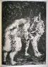 Pablo Picasso / Le loup (The wolf), pl. 10, from the book Picasso/Eaux-fortes originales pour des textes de Buffon (Picasso/Original Etchings for the Texts by Buffon) (Paris: Martin Fabiani, 1942) / 1941 - 1942
