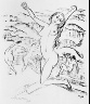 Max Pechstein / (four nude women on beach) / 1917