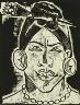 Max Pechstein / Exotic Heads 4 / 1917