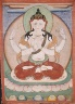 Nepal or Tibet / Shadakshari Lokesvara / 19th Century