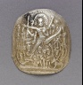 Nepal / Medallion with Vishnu-Vikranta / 13th century