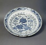 Turkey / Blue and White Dish / 18th-19th century