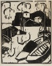 Karl Schmidt-Rottluff / Harbor and Devil's Bridge / 1911