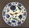 Turkey, Iznik / Plate / 1560-1565