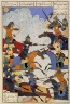 Iran, Gilan / The Battle of the Twelve Heroes; From a Manuscript of the Shahnama (Book of Kings) / 1494/A.H. 899